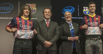 Intel inside partners with FC Barcelona