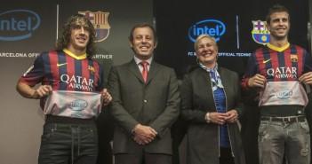 Intel inside partners with FC Barcelona