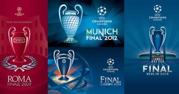 Champions League Finals Logos