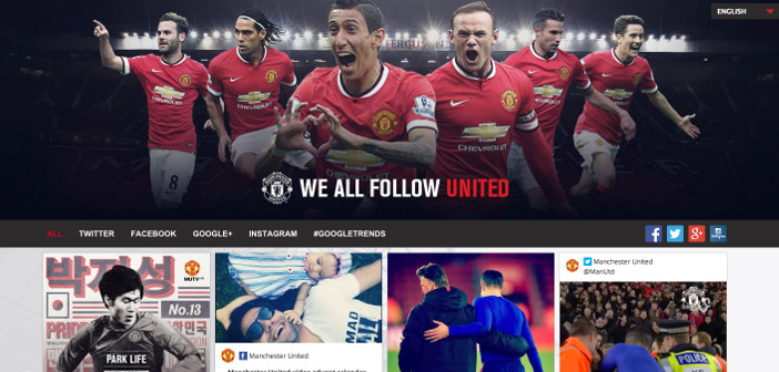 What do you #PlayFor? – Manchester United and social media