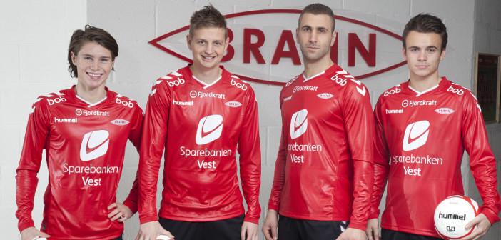 SK Brann Hummel rubber shirts