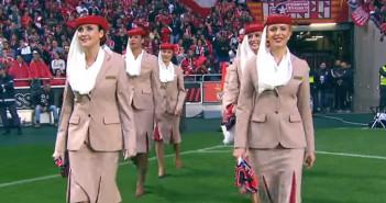 Emirates Benfica Safety Demonstration Stadium