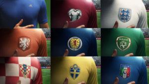 national team badges